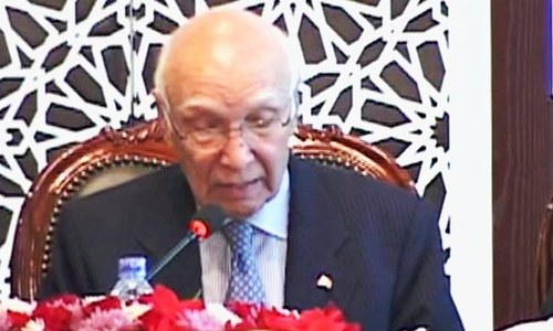 'Heart of Asia' conference: Dire security challenges hampering development, says Sartaj