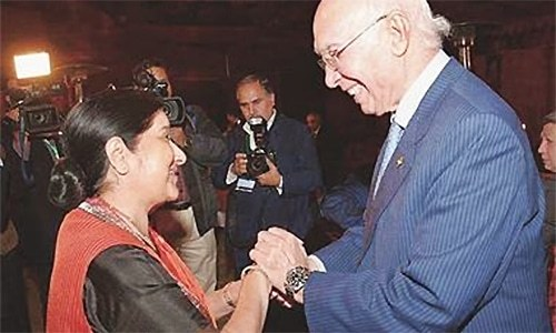 Indian FM plans talks on improving relations