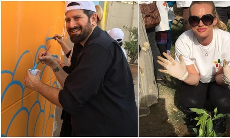 Celebs get down and dirty for Karachi Savaro campaign