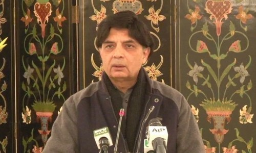 Sindh govt endangering Karachi operation to save 'just one man': Nisar
