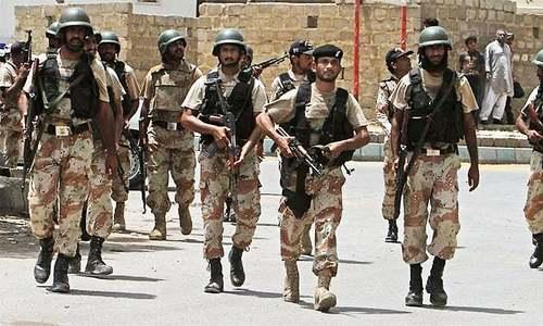 Centre, Sindh in fiery rhetoric over Rangers' role