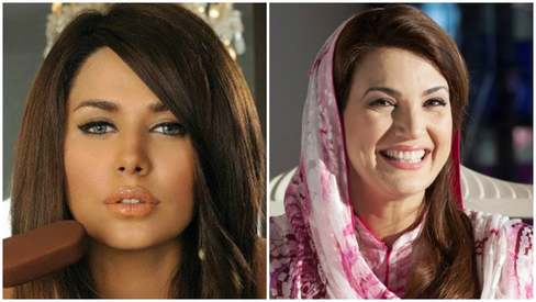 Reham, Ayyan among most 'sought after' people in Pakistan
