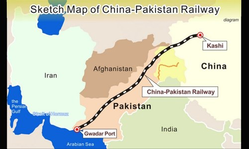 New railway tracks planned under CPEC: report