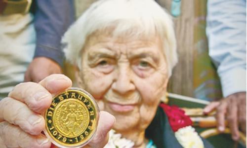 Dr Ruth Pfau honoured by German govt