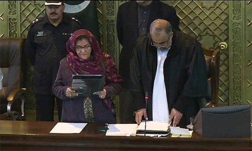 KP assembly elects first ever woman deputy speaker