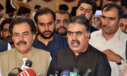 Zehri elected Balochistan chief minister unopposed