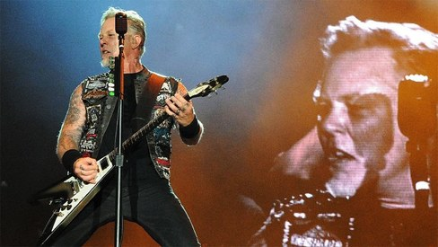 Metallica hints that a new album is on its way after a long absence