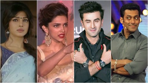 This list of 2015's highest paid Bollywood actors shows female stars earn less than men