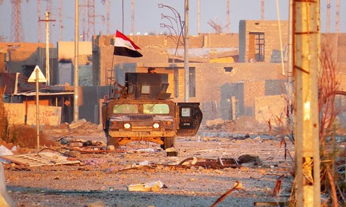 Iraqi forces in fierce battles with IS in Ramadi