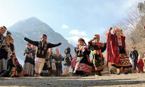 Come winter, Kalash people go into virtual hibernation