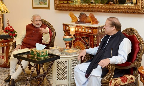 The Nawaz and Modi show