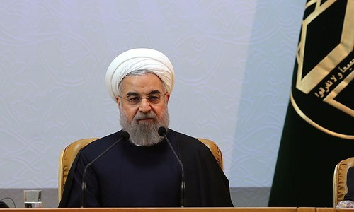Iran's Rouhani says it's up to Muslims to correct Islam's image
