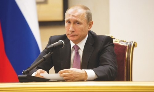 Putin's 2015 foreign policy report card