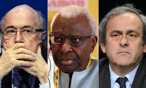 FIFA and IAAF scandals warning for corrupt sports administrators