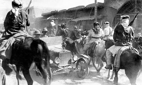 Middle East still rocking from First World War pacts made 100 years ago
