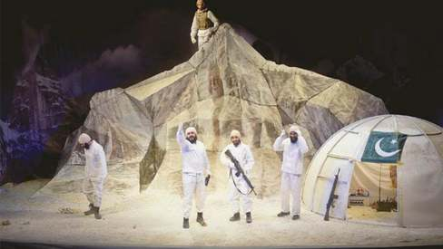 Anwar Maqsood's new play Siachen is cold as ice, warm as blood