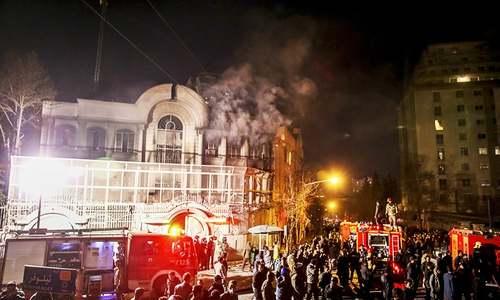 Iran reacts with fury after Saudis execute Shia cleric