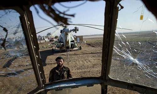 Military helicopter crash kills three Afghan air crew
