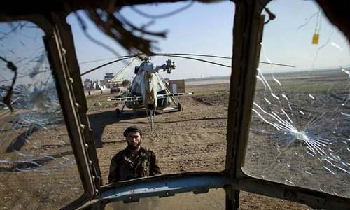 Military helicopter crash kills three Afghan air crew