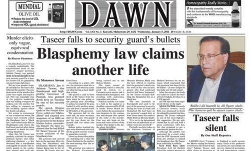 The day Salman Taseer fell silent