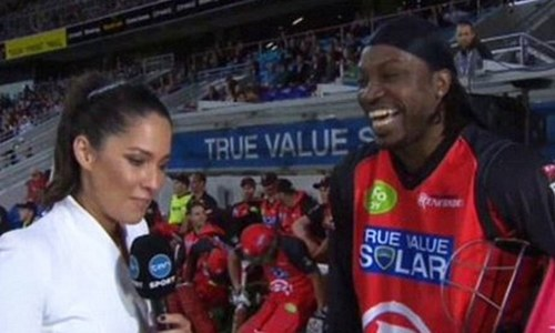 Chris Gayle and sexism in sports — The game is changing, baby