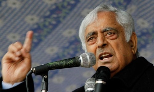 India-held Kashmir Chief Minister Mufti Mohammad Sayeed dies