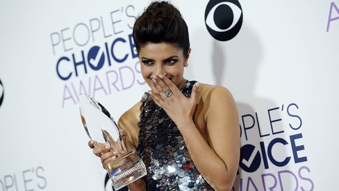 Just in: Priyanka Chopra becomes first South Asian actress to win People's Choice Award
