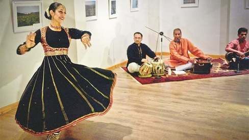 Kathak workshop finale — music, dance and the twentieth wife