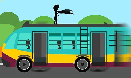 Double-a double-a! Nine ways to survive public buses in Karachi