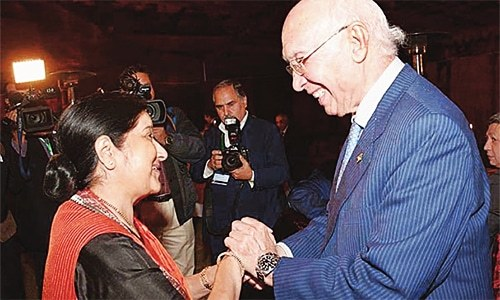 India-Pakistan progress
