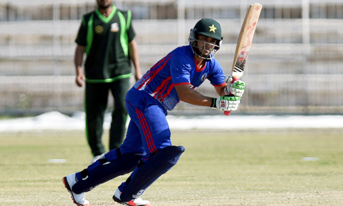 Salman Butt marks cricket comeback with blistering hundred
