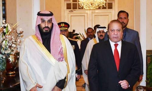 Pakistan welcomes Saudi-led anti-terror alliance: PM
