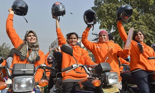 Women on Wheels = 'Beyhayai' on wheels?