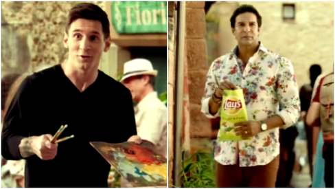 Messing around? Wasim Akram and Lionel Messi pair up in this cute ad