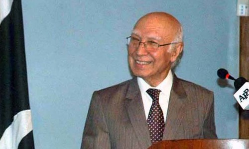 Pakistan will not send ground troops as part of Saudi-led military alliance: Aziz
