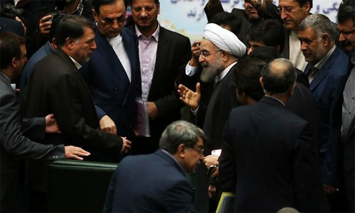 All happy about deal except Israel, US hardliners: Rouhani