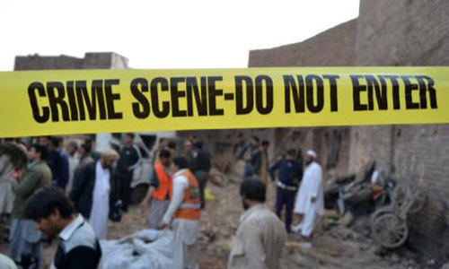 Families of Jamrud suicide attack victims in distress