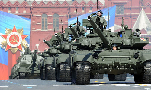 Russian team holds talks on sale of military hardware
