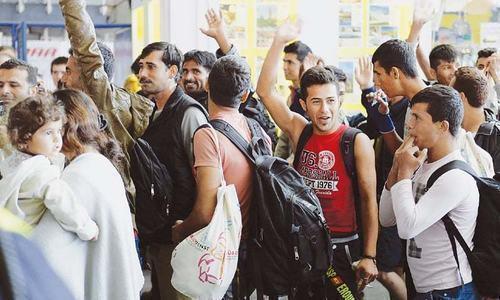 "'Muslim men come to Europe with their ""hansi tau phansi"" mentality'"