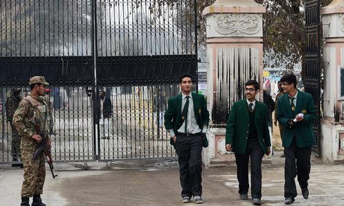 Army-run schools in Karachi to remain closed till Jan 31
