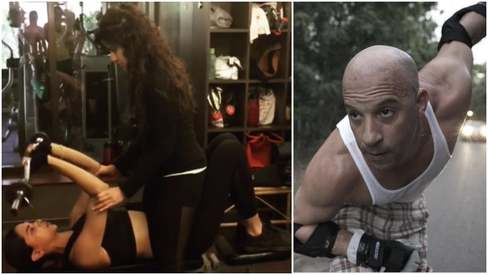 Deepika trains hard for huntress role in xXx: The Return of Xander Cage