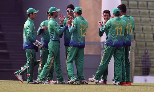 U19 World Cup:  Mohsin stars as Pakistan cruise to win over Afghanistan
