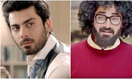 Did Hamza Ali Abbasi just take a cheeky jab at Fawad Khan in this TVC?