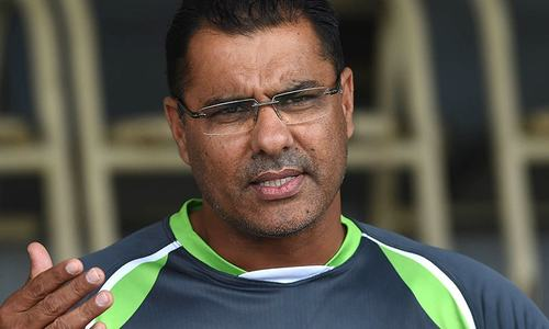 No intention of stepping down: Waqar Younis