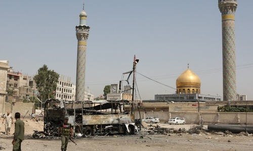 Bomb attacks near Hazrat Zainab's shrine in Syria kill 50, wound 110