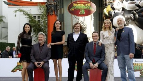 Kung Fu Panda 3 kicks up $41m to dominate box office