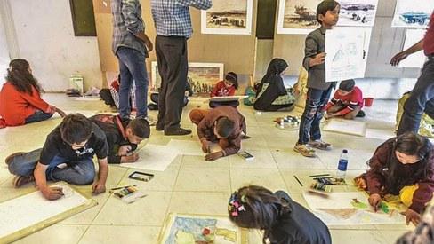 Cultural festival 'Koocha-i-Saqafat' sees revival at the Arts Council Karachi