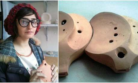 Meet Kalsoom Hameed, inventor of musical instruments