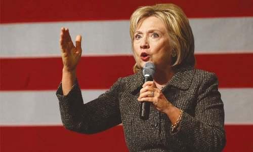 US created Taliban and abandoned Pakistan, says Hillary