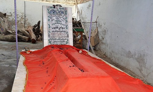 When a transgender was buried in an imambargah
